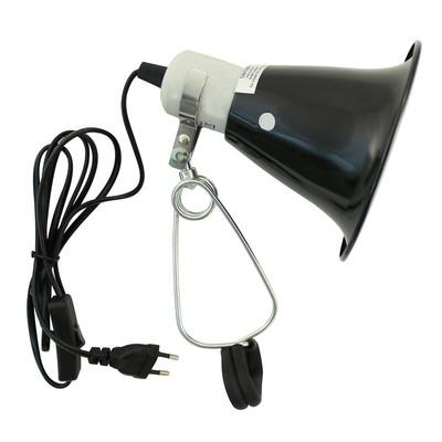 Светильник на зажиме (14 см, до 75 Вт)
